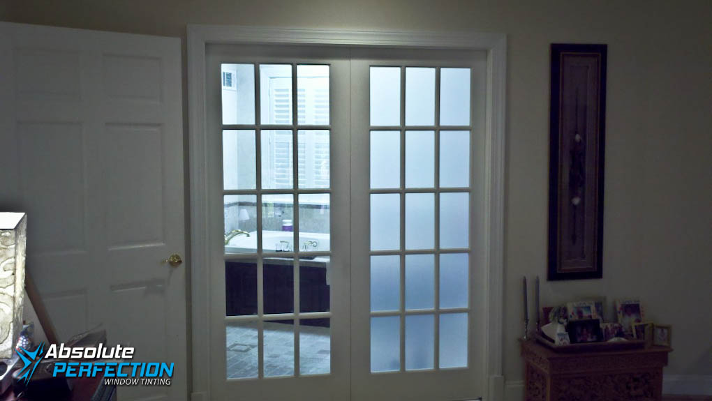 frost window film for home bathroom