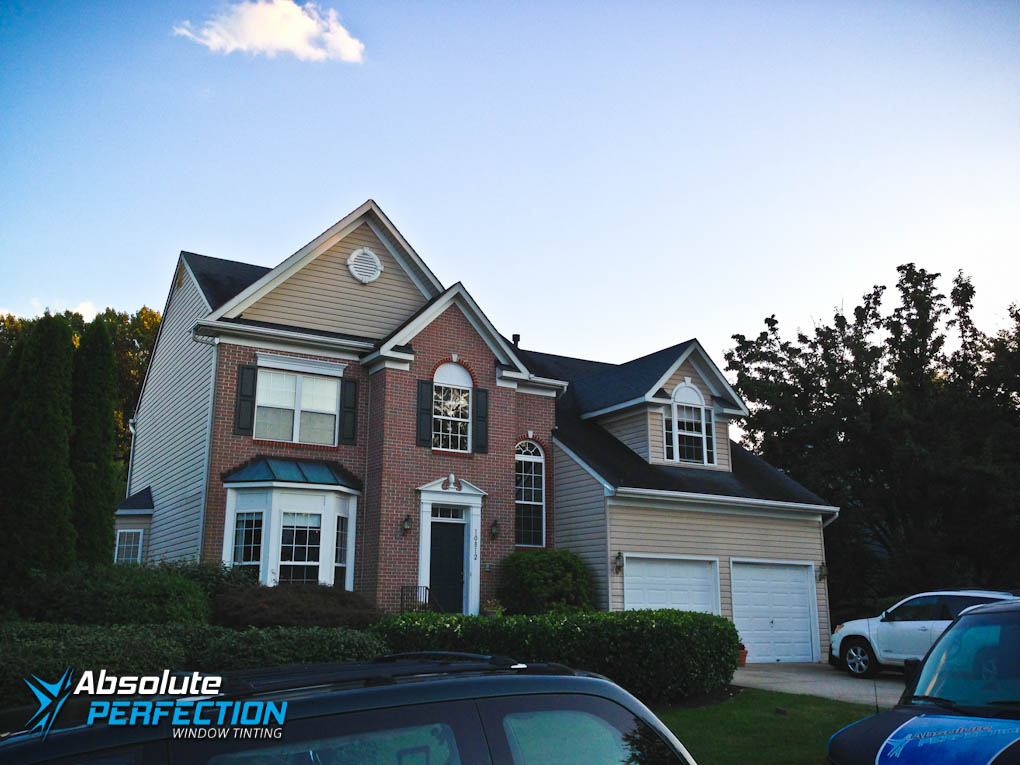 Home Privacy Window Tint by Absolute Perfection Maryland