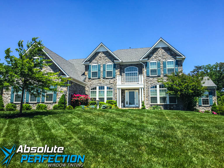 Home Window Tint Absolute Perfection Window Tinting Enerlogic Low-E Maryland