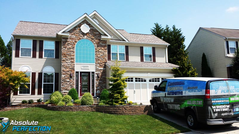 Home Window Tinting - Residential Window Tint - Maryland Washington DC Virginia - Absolute Perfection