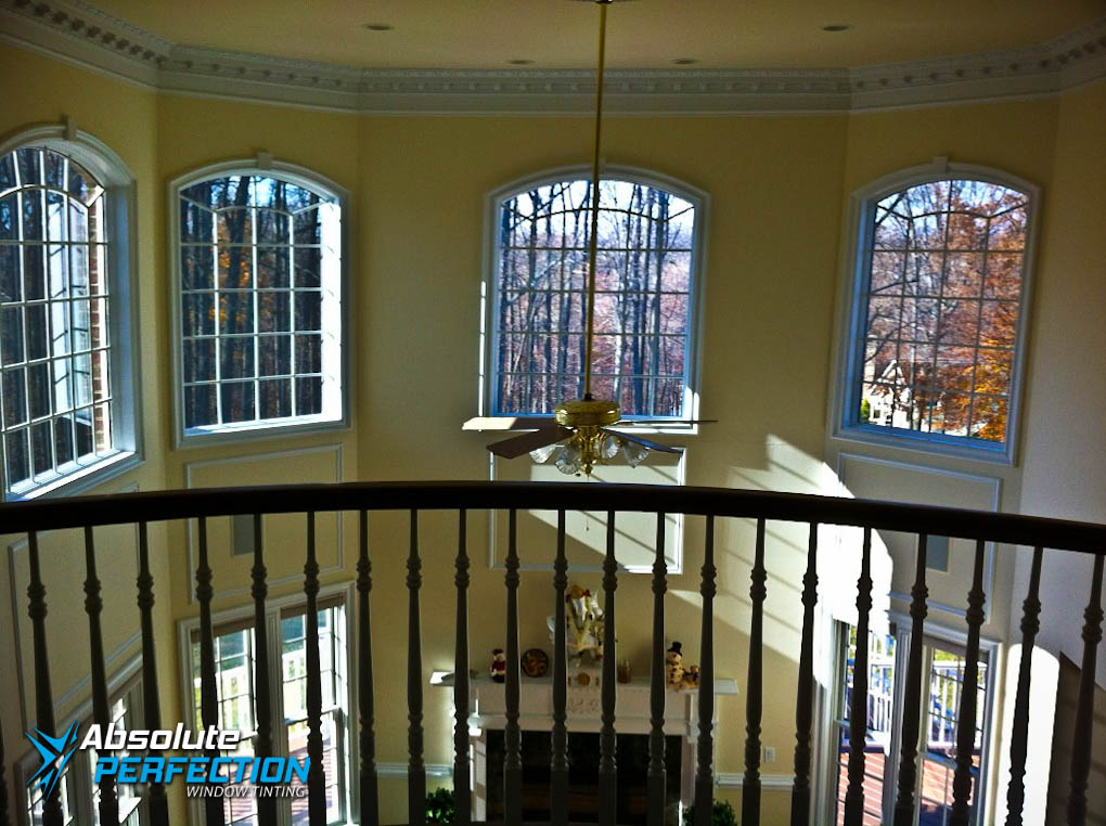 Inside Look of Absolute Perfection Home Window Tinting With EnerLogic Low-E Film Sykesville, Maryland