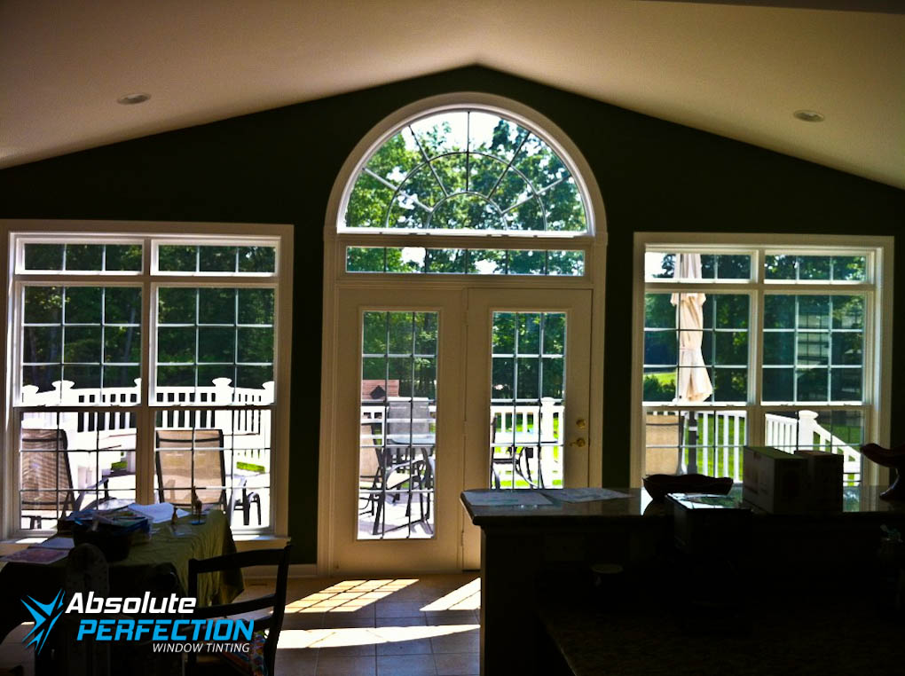 Inside Look Of Home Window Tinting For Glare Reduction By