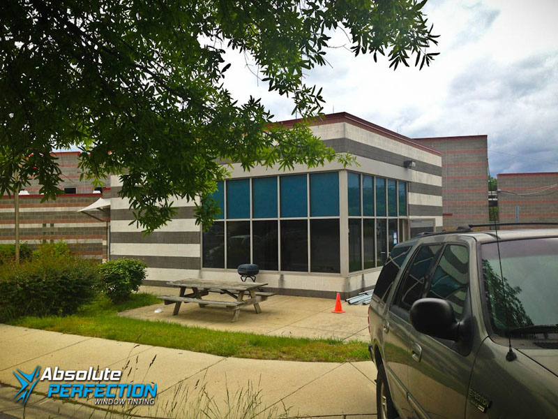 Maryland Heat Reduction Commercial Window Tint AP Tinting