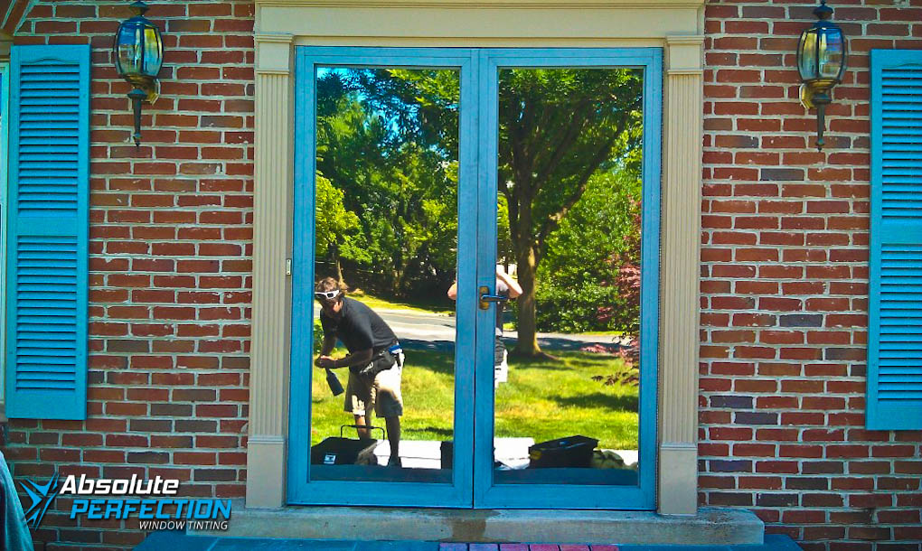 Privacy Window Tint for Homes by Absolute Perfection Tinting Maryland