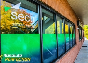 Secu Custom Logo and Lettering by Absolute Perfection Tinting