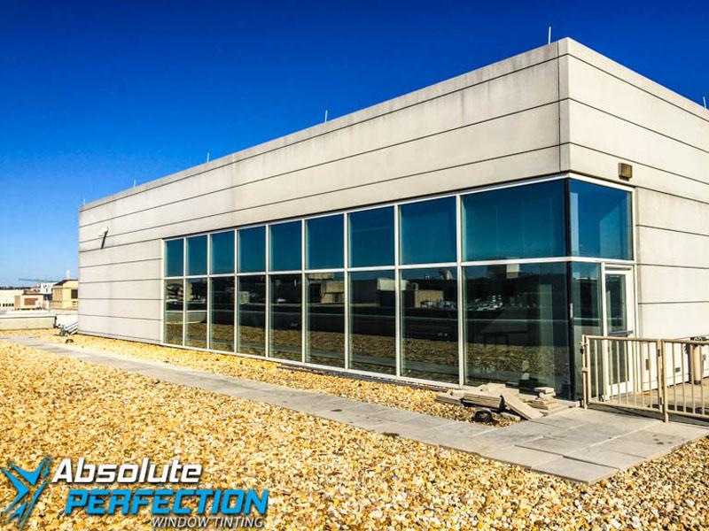 Washington DC & Maryland Commercial Heat Reduction Window Tint AP Tinting 2