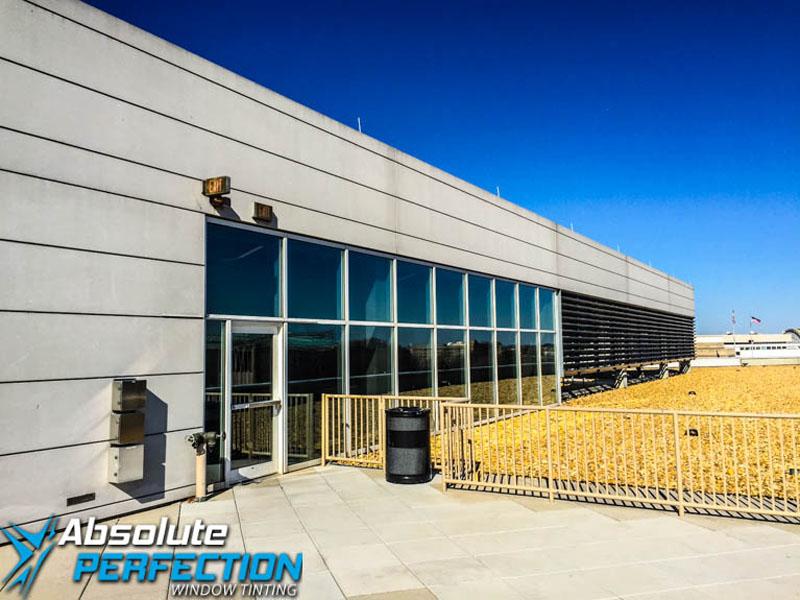 Washington DC & Maryland Commercial Heat Reduction Window Tint AP Tinting