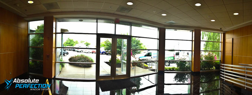Washington DC & Maryland Heat Reduction Commercial Window Tint AP Tinting