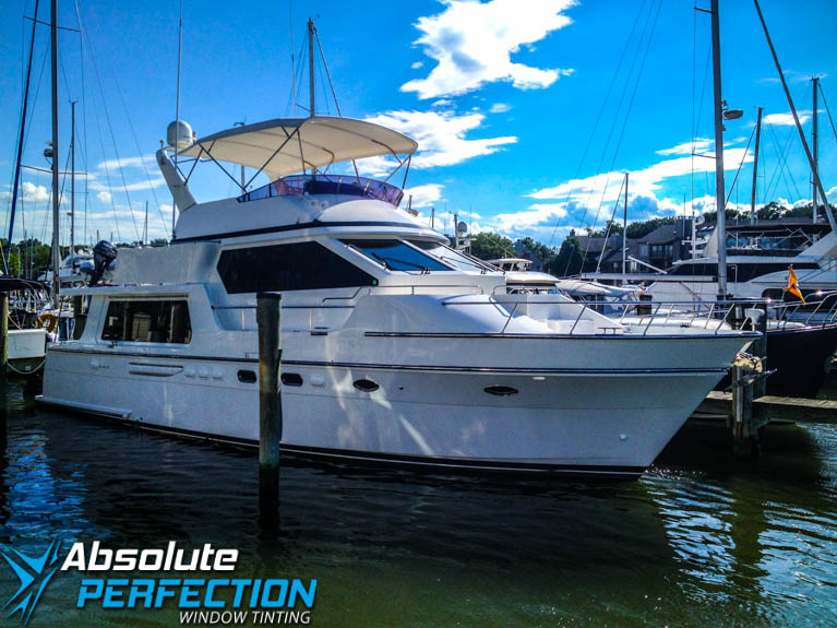 Window Tinting for Yachts