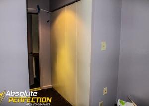 3M Di-Noc Architectural Film Closet Installation