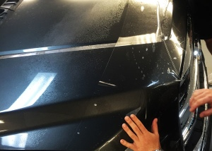 Paint Protection Film Installation Ford F-350