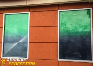 Custom Store Front Graphics Perforated Vinyl Secu