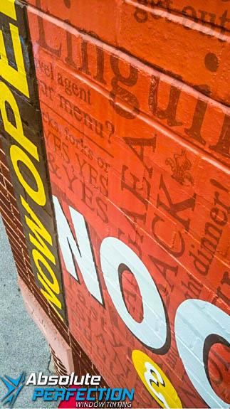 Custom Wall Mural Noodles & Company
