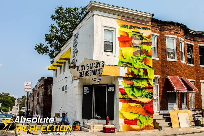 Custom Wall Mural Baltimore Maryland