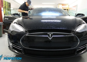 Tesla-Paint-Protection-Film-Installation-Absolute-Perfection-Window-Tinting-2