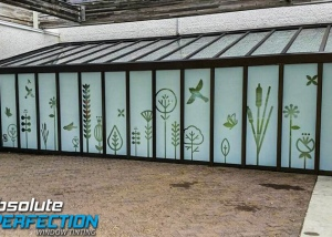 Custom Frost & Graphics - Absoltue Perfection Window Tinting and Graphics (13)