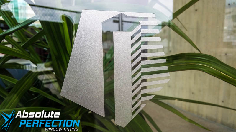 Custom Frost & Graphics - Absoltue Perfection Window Tinting and Graphics (7)