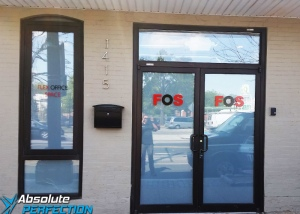 Flex Office Space - Frosted Window Film - Absolute Perfection Window Tinting - Baltimore