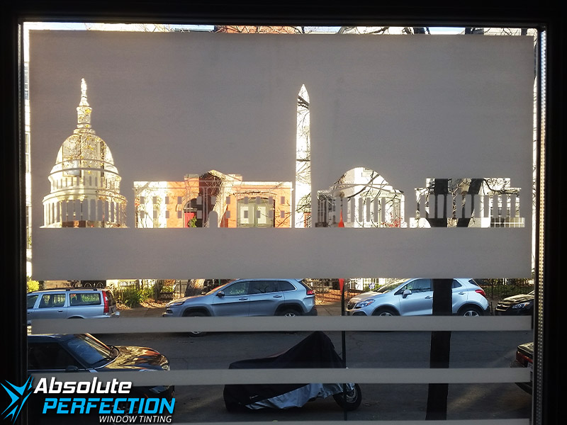 Frosted Window Film - Absolute Perfection Window Tinting - Baltimore