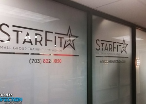 Starfit Frosted Window Film - Absolute Perfection Window Tinting - Baltimore