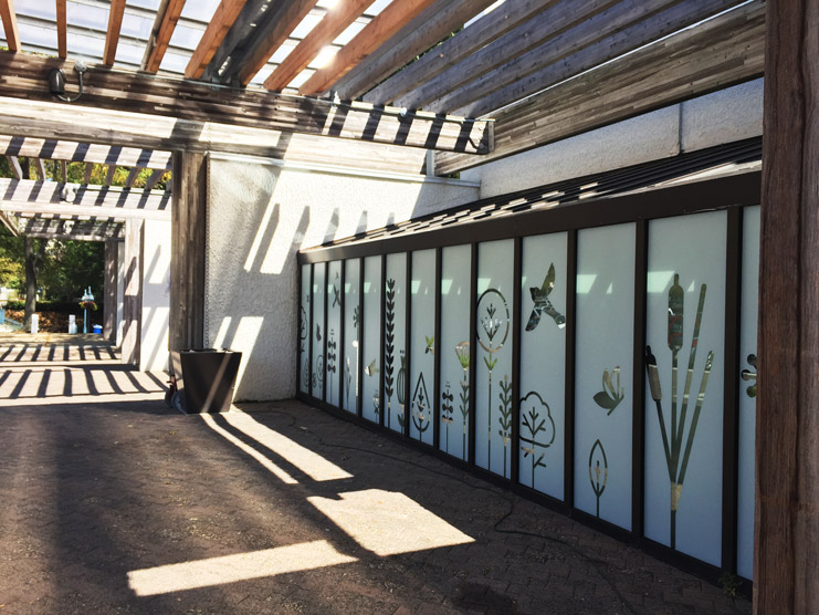 Whole Foods Custom Frosted Window Film - Columbia Maryland - AP Tinting