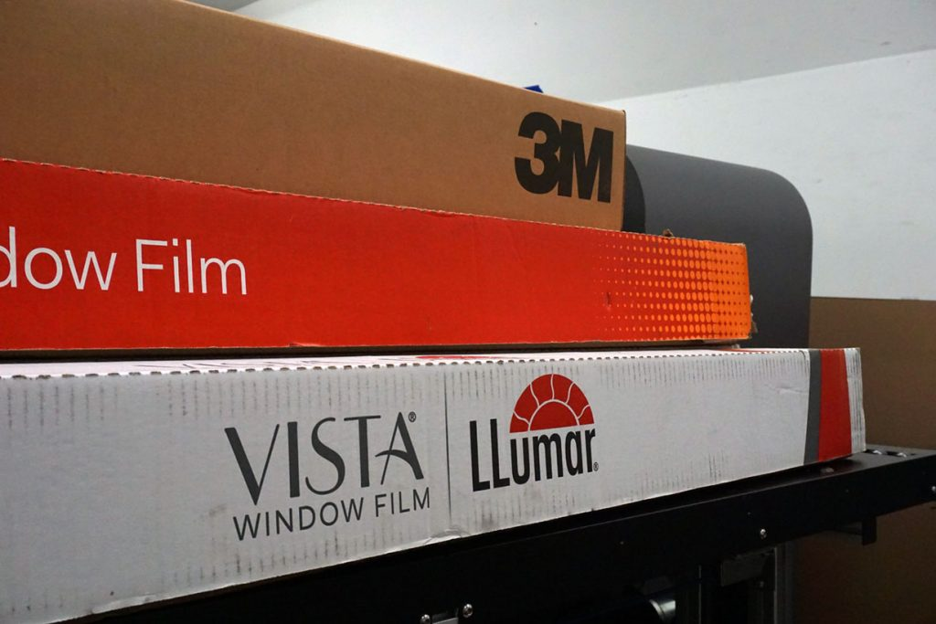 ap tinting authorized brands 3M Llumar and Vista