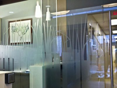 Frosted Glass Design for Business