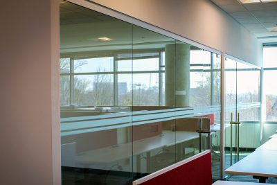 Frosted Window Film Bands