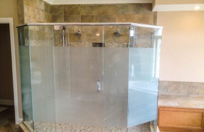 Residential Frosted Film for Bathroom
