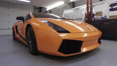 Lamborghini Gallardo Superleggera with Paint Protection