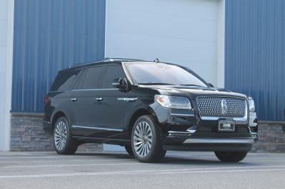 Lincoln Navigator with Paint Protection