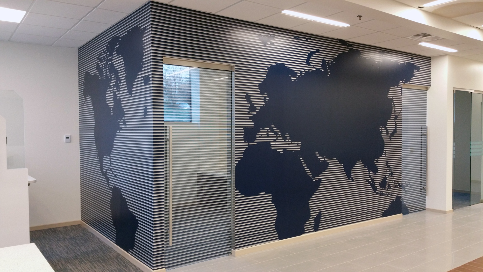 Navy Federal Credit Union Wall Mural