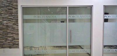 Porcelanosa Custom Logo and Lettering