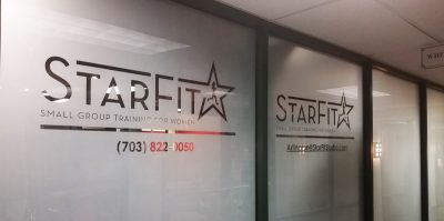 StarFit Frosted Window Film