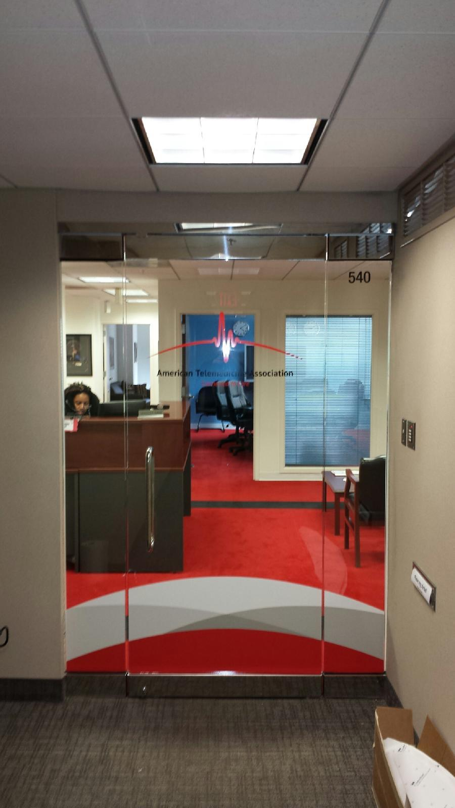 American Telemedicine Window Graphics