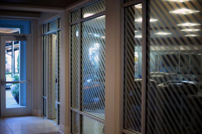 Bell West End Decorative Window Film