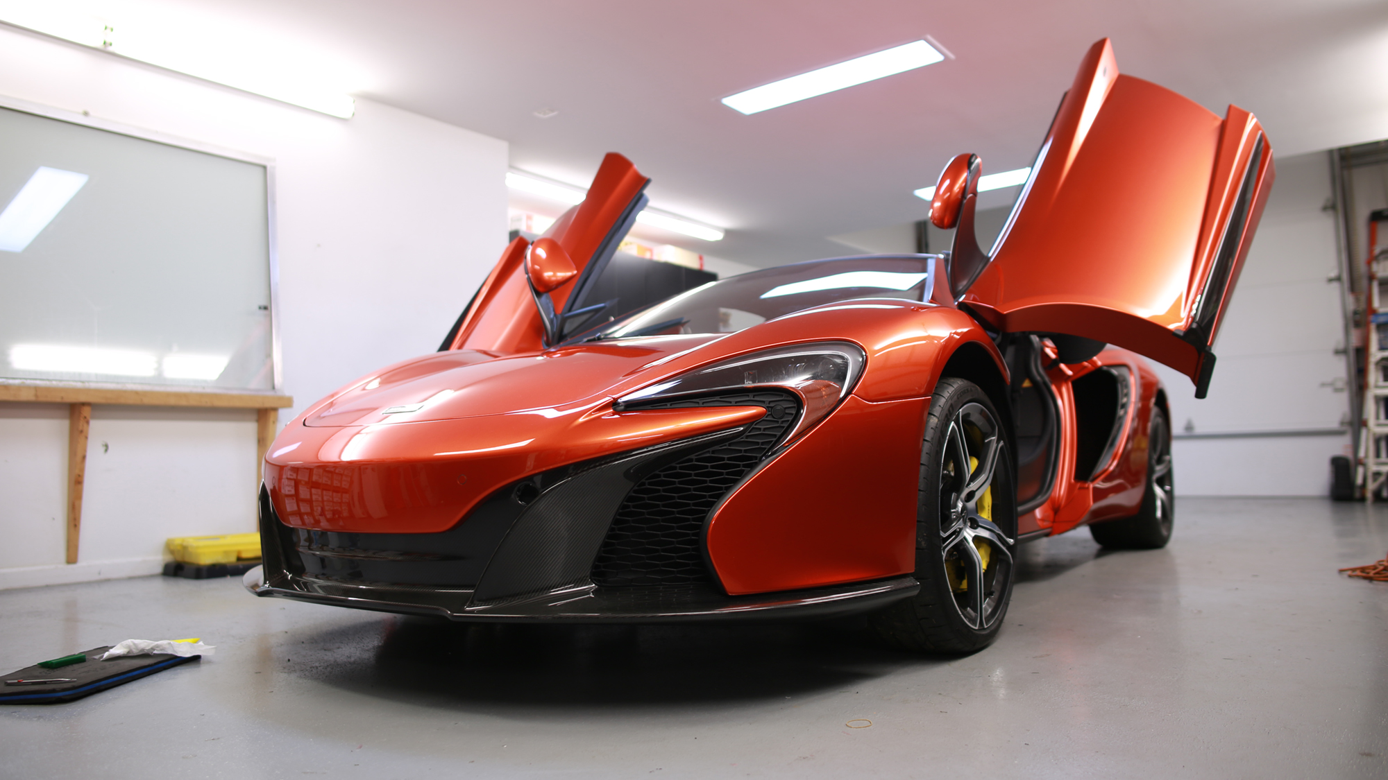 McLaren with Paint Protection