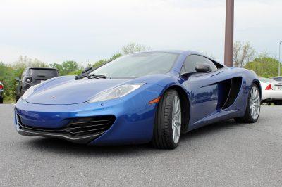 McLaren with Window Tint