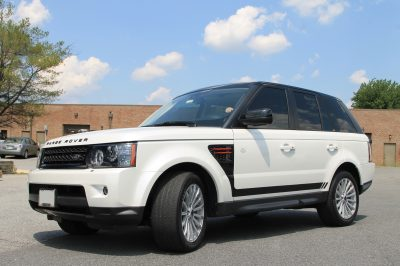 Range Rover with Window Tint