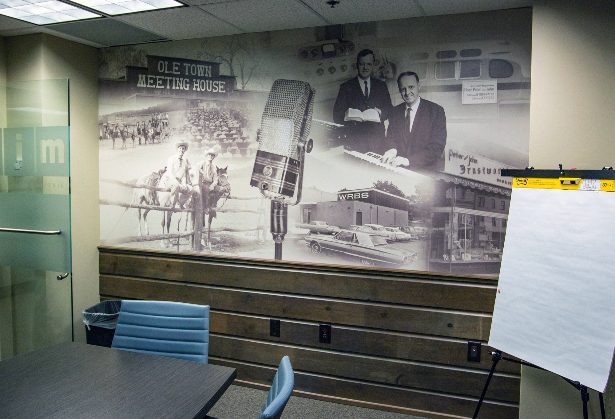 River Valley Ranch Wall Mural