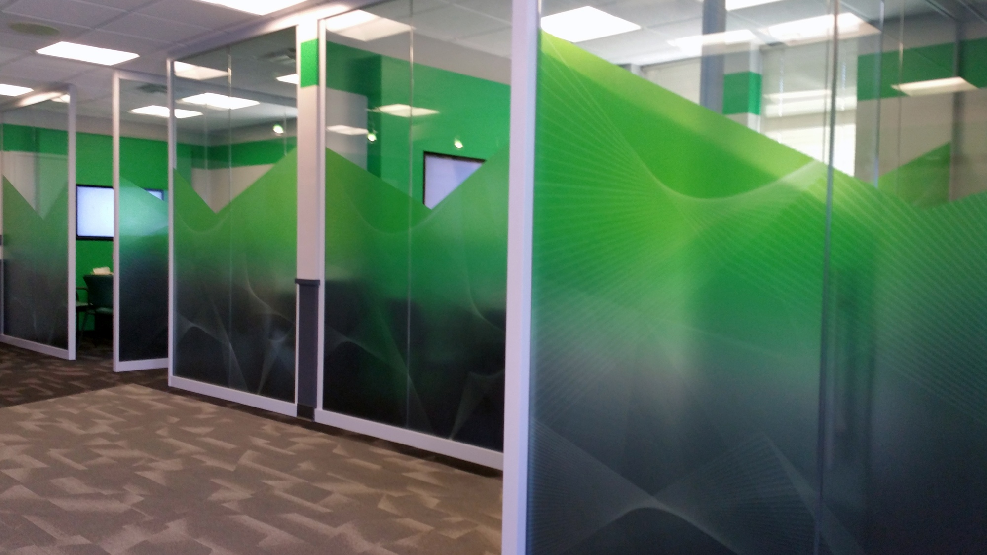 SECU Decorative Frost Film
