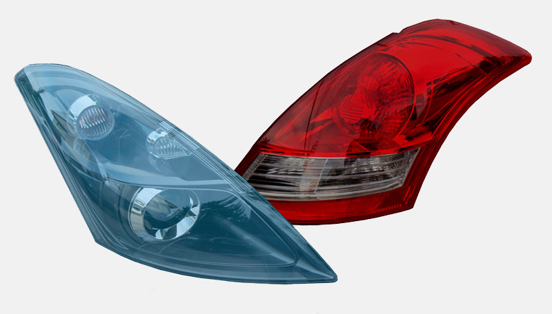 headlight and tail light tinting