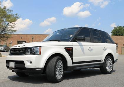 range rover vehicle window tinting south carolina