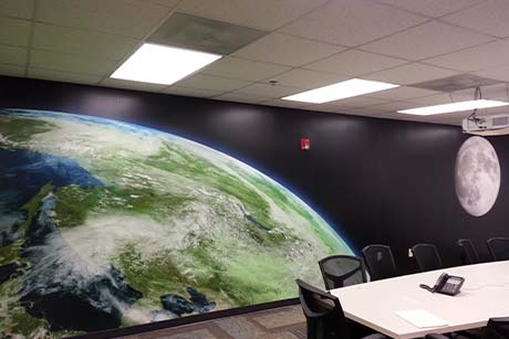 Maryland conference room wall mural