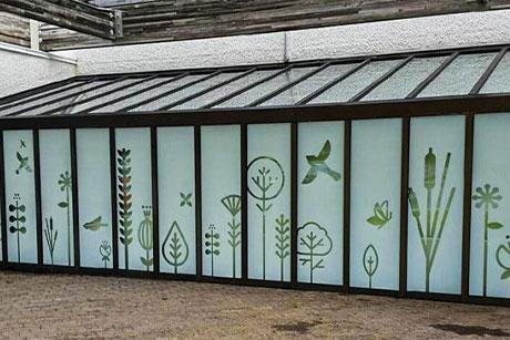 Maryland decorative privacy frost window film