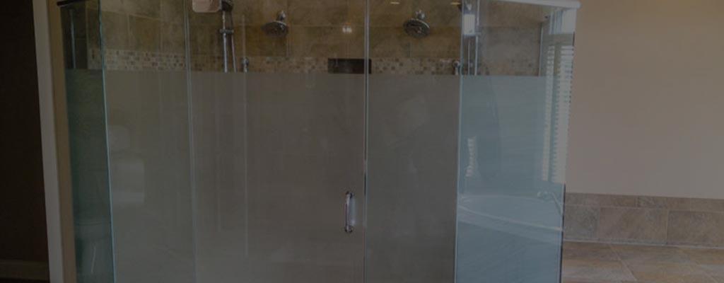 frosted shower glass alternative window film