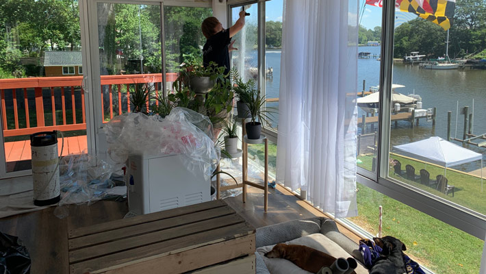 How to Reduce Heat in Your Sunroom