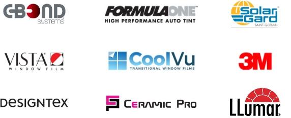 Maryland window tint Certifications C Bond Formula One Solar Gard Vista CoolVu 3M Designtex Ceramic Pro Llumar