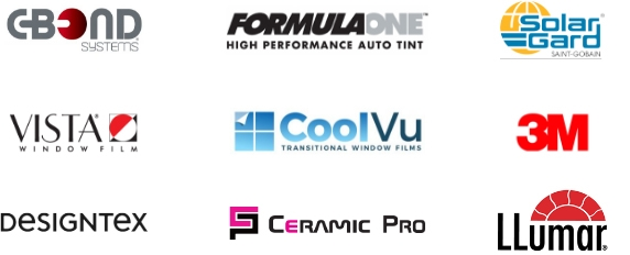Ohio window tint Certifications window tint Certifications C Bond Formula One Solar Gard Vista CoolVu 3M Designtex Ceramic Pro Llumar