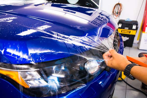 vehicle paint protection film company near me